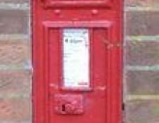 Como remover uma caixa de correio de tijolo