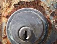 Como remover fechaduras de cilindro