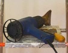 Como remover mossas com uma pistola de calor