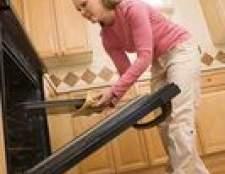 Como remover a gordura de dentro do seu porta do forno