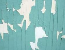 Como remover a pintura antiga e descascando