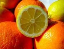 Como remover miolo de frutas cítricas