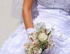 Como remover manchas de água a partir de um vestido de casamento de poliéster