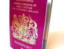 Como renovar um passaporte do Reino Unido