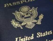 Como renovar um passaporte americano no canadá