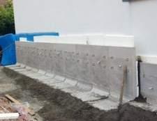 Como reparar uma fundação com vazamento