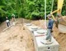 Como reparar um tubo de drenagem de fossas sépticas
