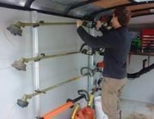 Como substituir uma corda de arranque em um STIHL FS 55 trimmer