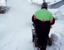 Como substituir a mola de tração em uma snowblower murray
