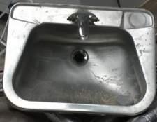 Como restaurar, uma pia de aço inoxidável sem brilho riscado
