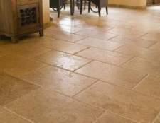 Como selecionar um piso de granito, mármore ou azulejo calcário