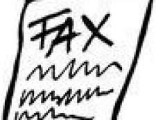 Como enviar vários documentos de fax em um aparelho de fax
