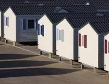 Como definir rodapés e cais de embarque para uma casa móvel singlewide