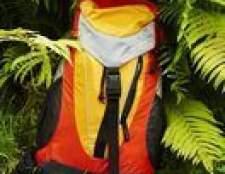 Como estabilizar uma mochila para bordado de máquina