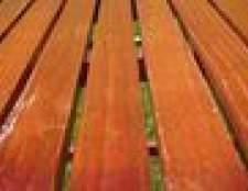 Como manchar um deck de madeira ao ar livre