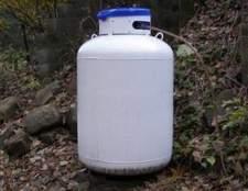 Como para armazenar um tanque de propano