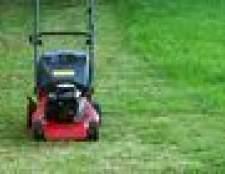 Como desmontar um motor de cortador de grama