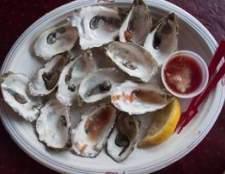 Como saber se ostras são ruins