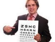 Como testar a visão do olho