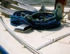Como amarrar uma corda de âncora