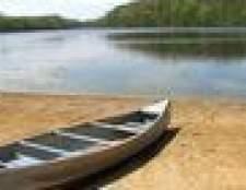 Como amarrar uma canoa para um rack de teto