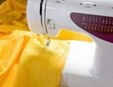 Como solucionar problemas de uma máquina de costura branca