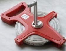 Como utilizar uma roda de medição