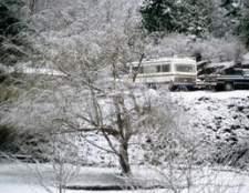 Como usar um campista caminhão no inverno