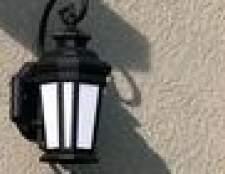 Como fio uma luminária de fora para se tornar uma luz plug-in
