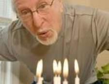 Como escrever uma saudação de aniversário para um homem de 100 anos de idade