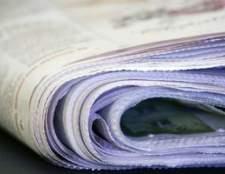 Como escrever um anúncio de venda de garagem para o jornal