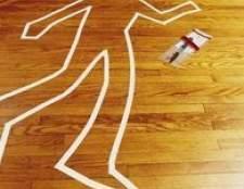 Idéias para uma caçada cena do crime