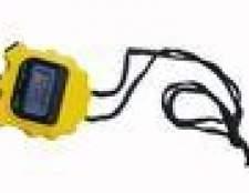Instruções para o cronômetro Sportline 240