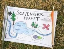 Itens de encontrar em uma caça ao tesouro