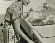 Aparelhos de cozinha na década de 1940