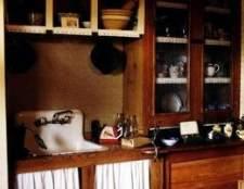 Cores da cozinha dos anos 1930, 1940 e 1950