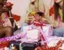 No caso de uma mãe da noiva comprar um presente para o chuveiro casamento?