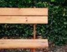 Retoque Redwood mobiliário de exterior