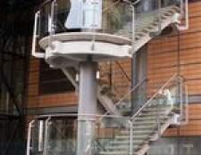 Regulamentos para balaustradas de vidro