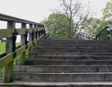 Requisitos para a altura da escada corrimão