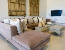 Ideias sofá decoração seccionais para salas pequenas