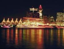Navios no porto de vancouver