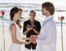 Obrigado presentes para oficiantes casamento