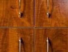 A melhor cor do granito por armários de carvalho