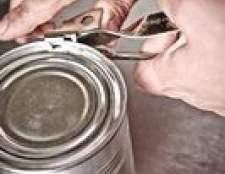 A composição de latas