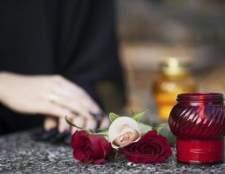 A história de vestir preto para o luto