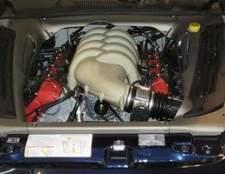 As partes de um motor de automóvel