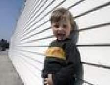 Dicas sobre treinamento excêntrico para um menino de três anos