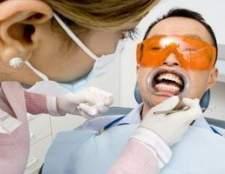 Como para branquear os dentes em um dia