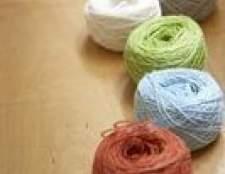 Quais são as diferenças entre os fios 10, 20 e 30 de crochê?